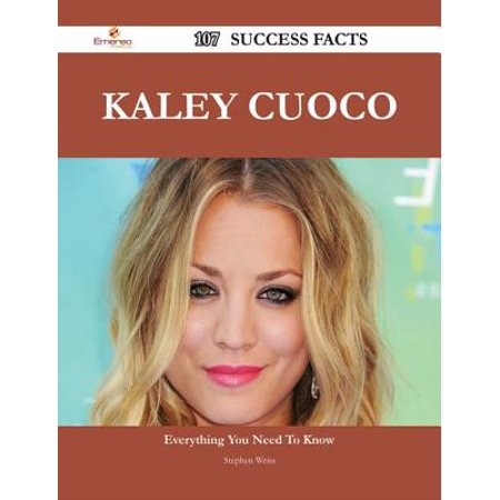 Kaley Cuoco 107 Success Facts - Everything you need to know about Kaley Cuoco - eBook](Kaley Cuoco Halloween)