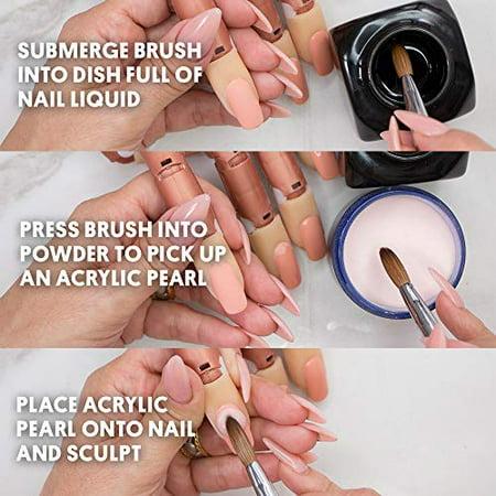 Young Nails Monomer Nail Liquid for Acrylic Nails, 32 Fl ...