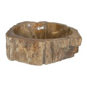 Eden Bath EB_S028PW-P Natural Stone Petrified Wood Vessel Sink