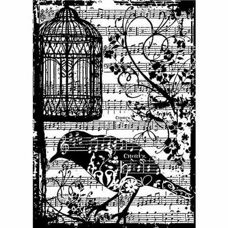 Tim Holtz Cling Rubber Stamp (Magenta Cling Stamps)