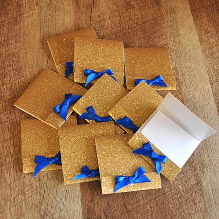 Royal Prince Baby Shower Favors. Ships in 1-3 Business Days. Matchbook Notebooks 10 CT. (Royal Prince Baby Shower Ideas)