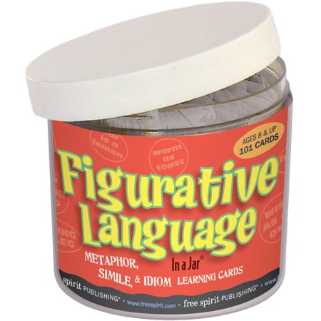 Figurative Language In a Jar® (Halloween Poems With Figurative Language)