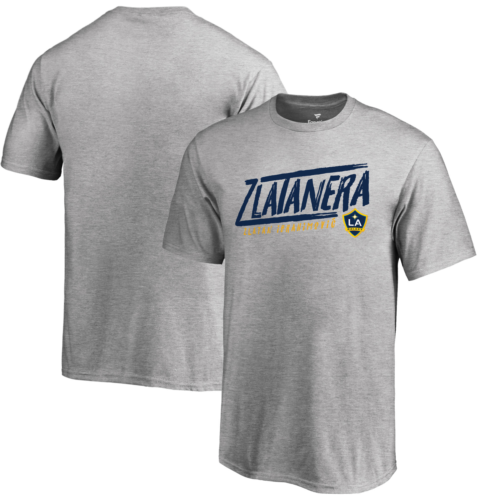 Zlatan Ibrahimovic LA Galaxy Fanatics Branded Youth Hometown Collection Zlatanera T-Shirt - Heather Gray
