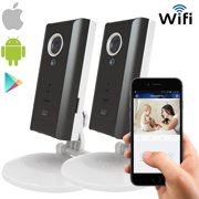 Solo Wireless Cube WiFi Camera, 2 Way Audio, 2 Pack