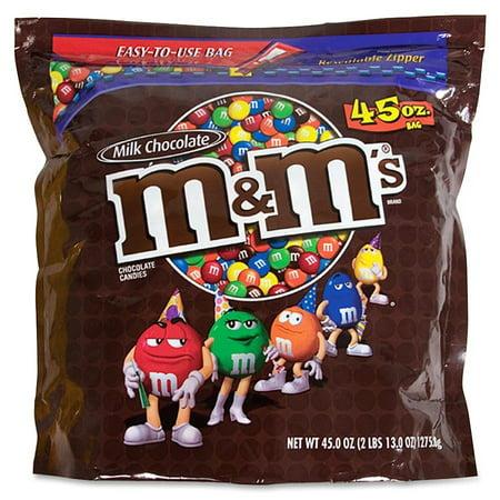 Mars PLN M&m Plain 42oz Bag 1-easy Seal Bag