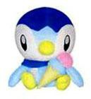 Pokemon 5 Inch Piplup Plush [Ice Cream Cone]