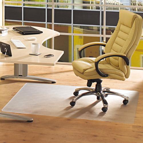 "Floortex ClearTex Advantagemat Phthalate-Free PVC Chair Mat for Hard Floors, 36"" x 48"""
