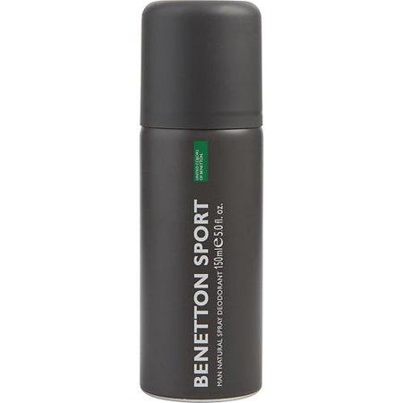 Benetton Deodorant Spray - MEN DEODORANT SPRAY 5 OZ BENETTON SPORT
