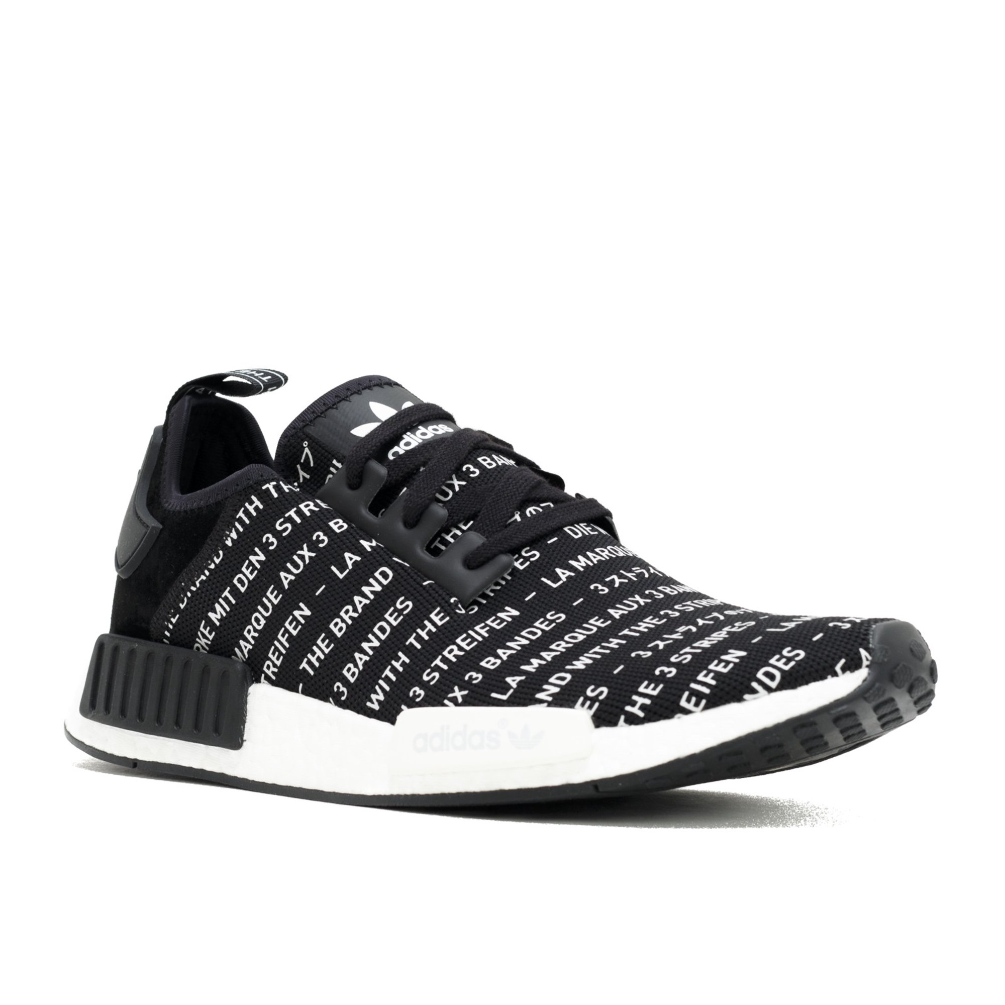 new concept 3111a 7eca9 Adidas - Men - Nmd R1 'Three Stripes' - S76519 - Size 10 ...