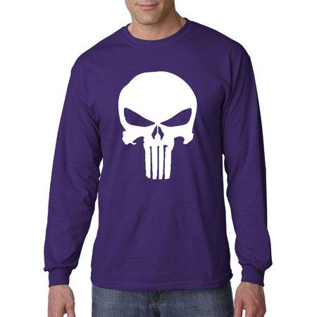 Punisher T Shirt (216 - Unisex Long-Sleeve T-Shirt The Punisher Skull)