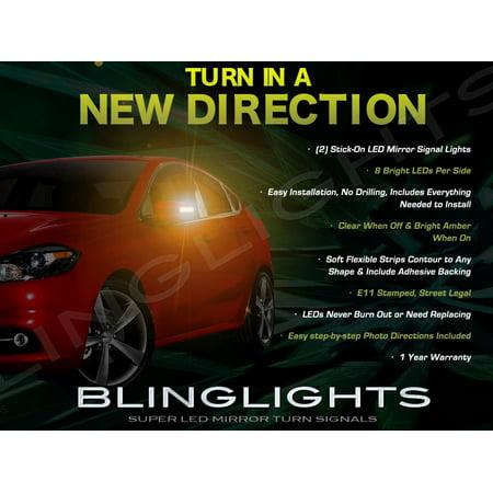Dodge Dart LED Side Mirror Lights Turn Signal Lamp Kit