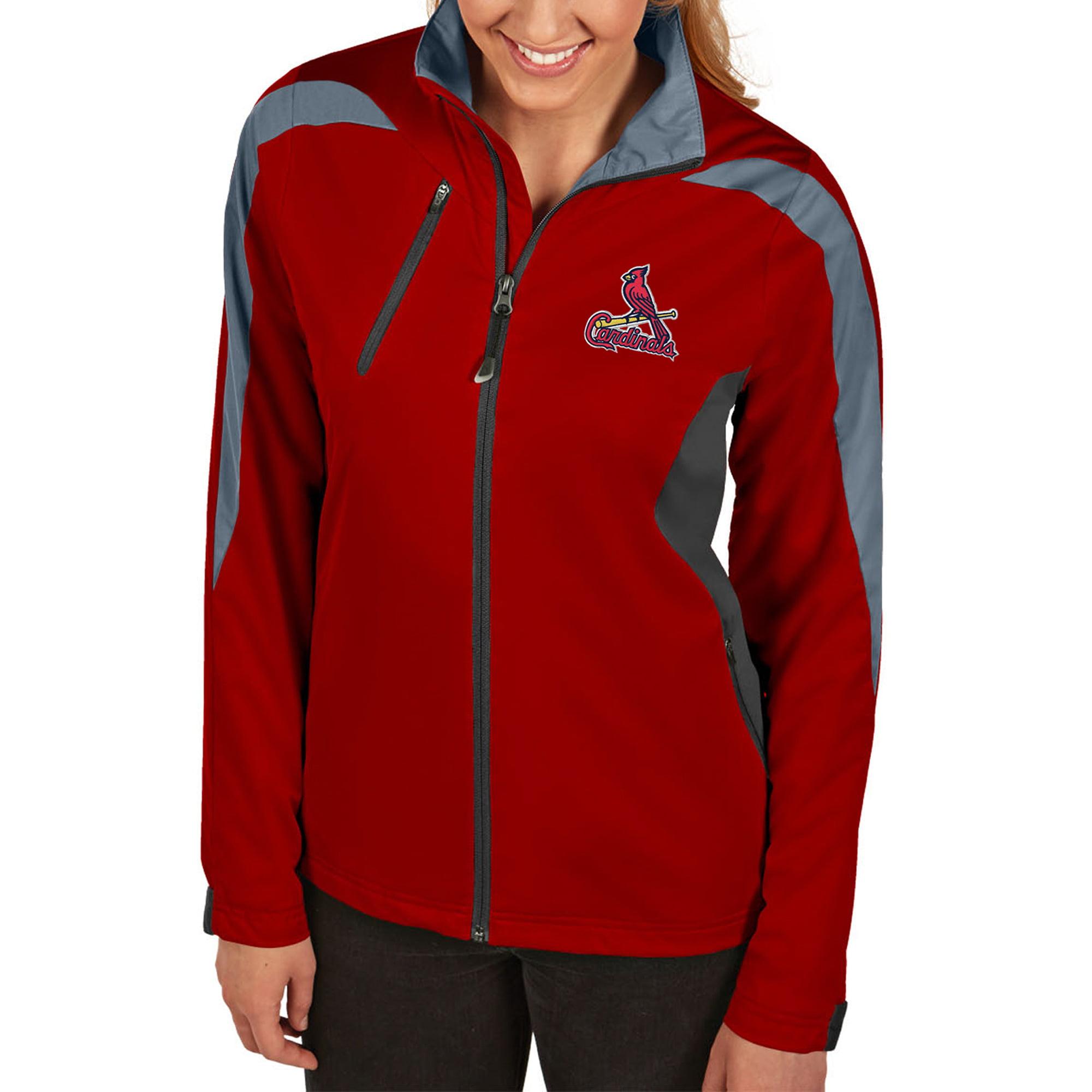 St. Louis Cardinals Antigua Women's Discover Full-Zip Jacket - Red