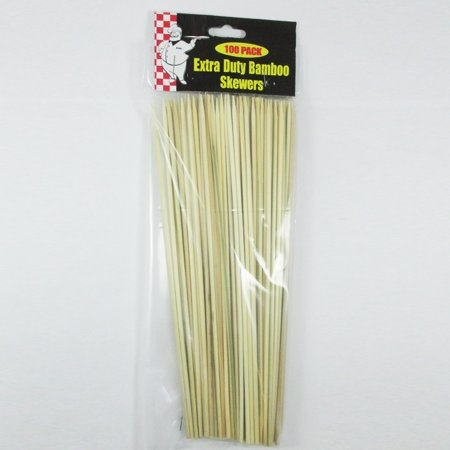 100 Ct Bamboo Skewers 10