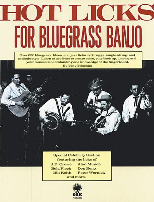 Click here to buy Hot Licks for Bluegrass Banjo by Music Sales.