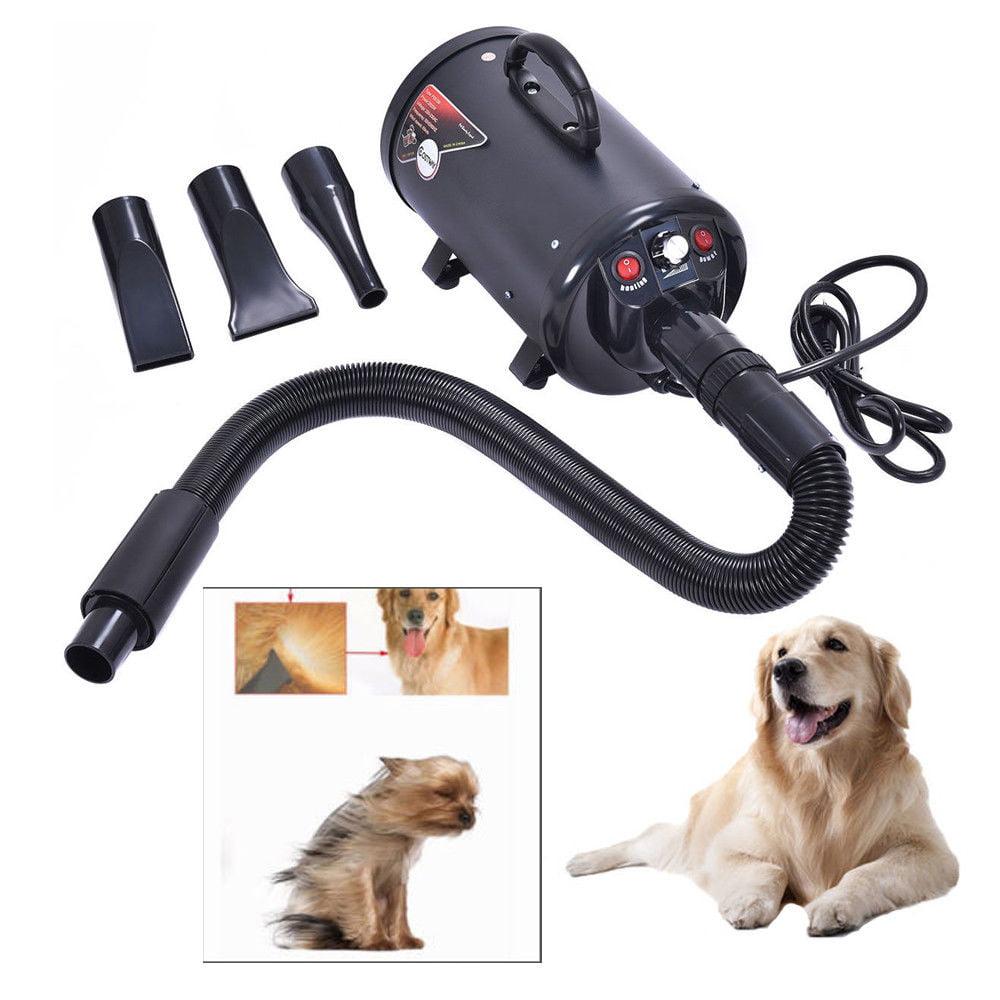 Zimtown Portable Dog Cat Pet Groomming Blow Hair Dryer Quick Draw Hairdryer