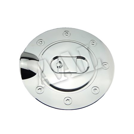 AAL Premium Gas Tank Fuel Door Cap Chrome Cover For 2004 2005 2006 2007 2008 Ford F-150 F150