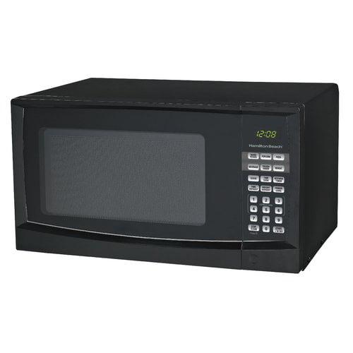 Hamilton Beach 0.9 cu ft Digital Microwave, Black