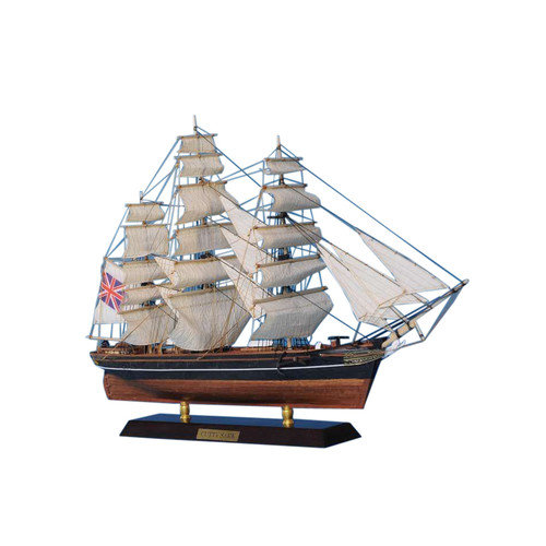 Handcrafted Nautical Decor Cutty Sark 20'' Wooden Limited Tall Model Clipper Ship