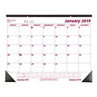 product image brownline monthly desk pad calendar 22 x 17 50 recycled