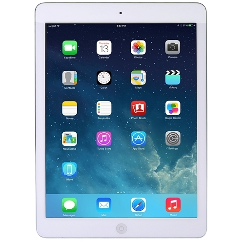 "RETIRE Apple iPad Air Tablet Apple A7 X2 2.4GHz 9.7"", White"