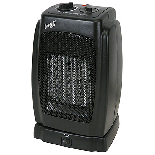 Comfort Zone Oscillating Compact Ceramic Heater