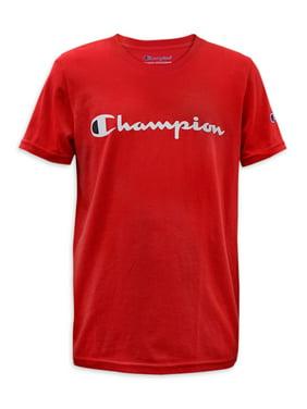 Champion Boys Signature Short Sleeve Graphic Athletic T-Shirt, Sizes 8-20
