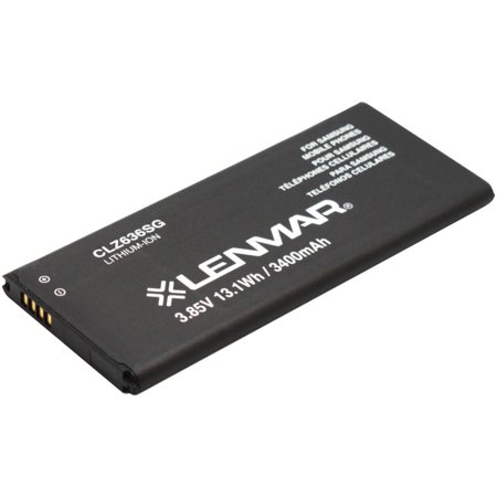 Galaxy Note 4 Lenmar clz636sg cellular phone replacement battery
