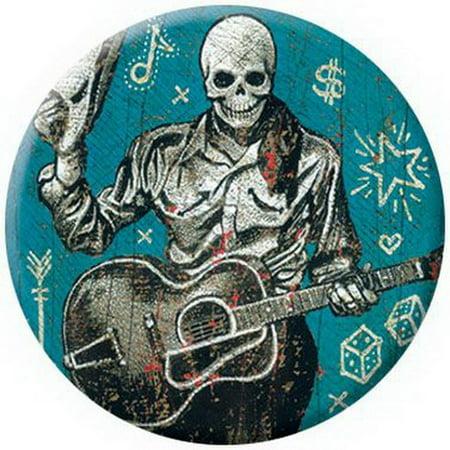 Tesoros Skeleton Cowboy Button 81200