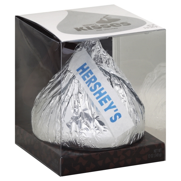 Hershey's Kisses Giant Milk Chocolate, 12 Oz.
