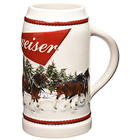 2016 budweiser holiday stein christmas beer mug - Budweiser Christmas Steins