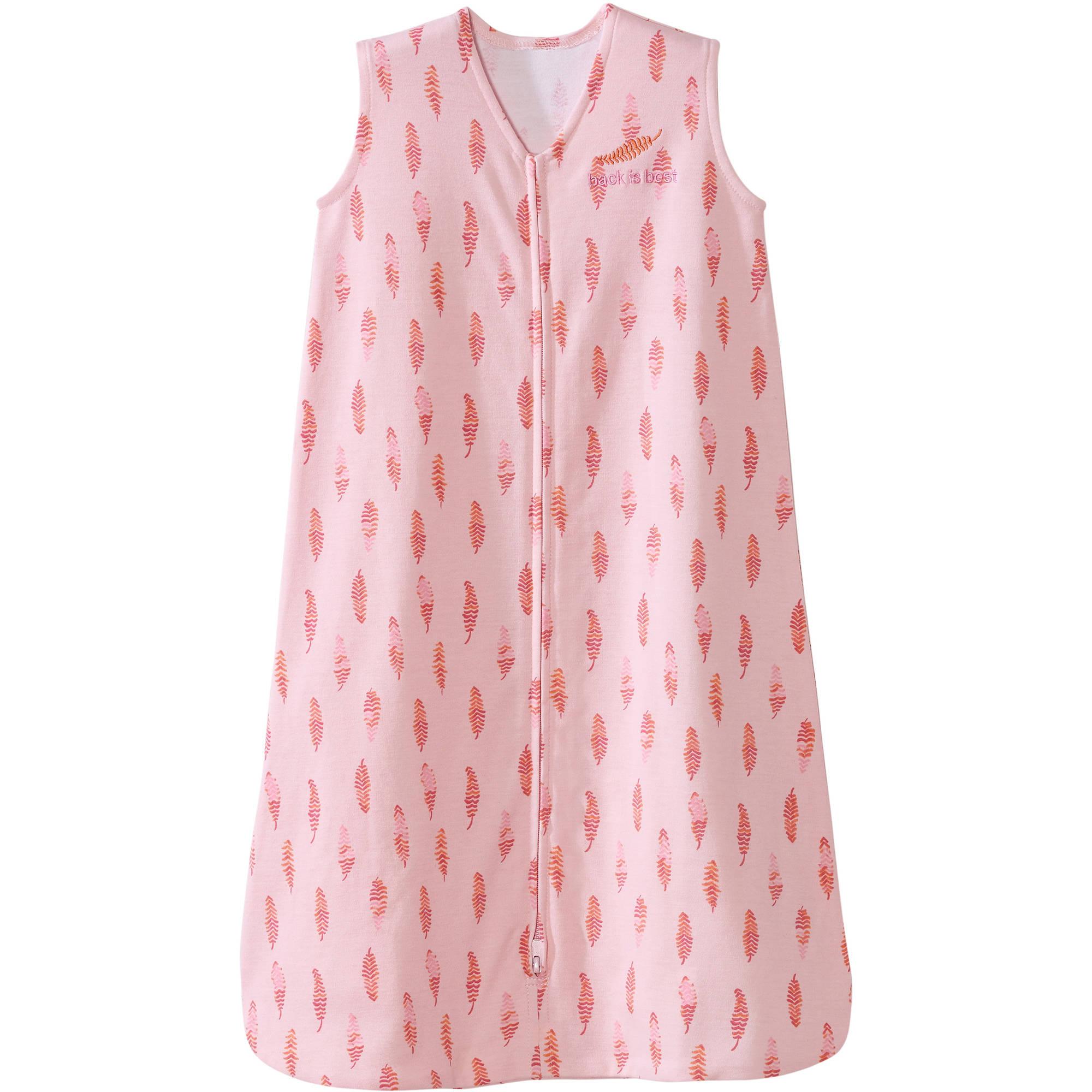 HALO SleepSack Wearable Blanket, 100% Cotton, Cream, Small