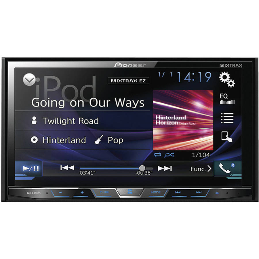 """Pioneer AVH-X490BS 7"""" Double-DIN In-Dash DVD Receiver with Bluetooth and SiriusXM Ready by Pioneer"""
