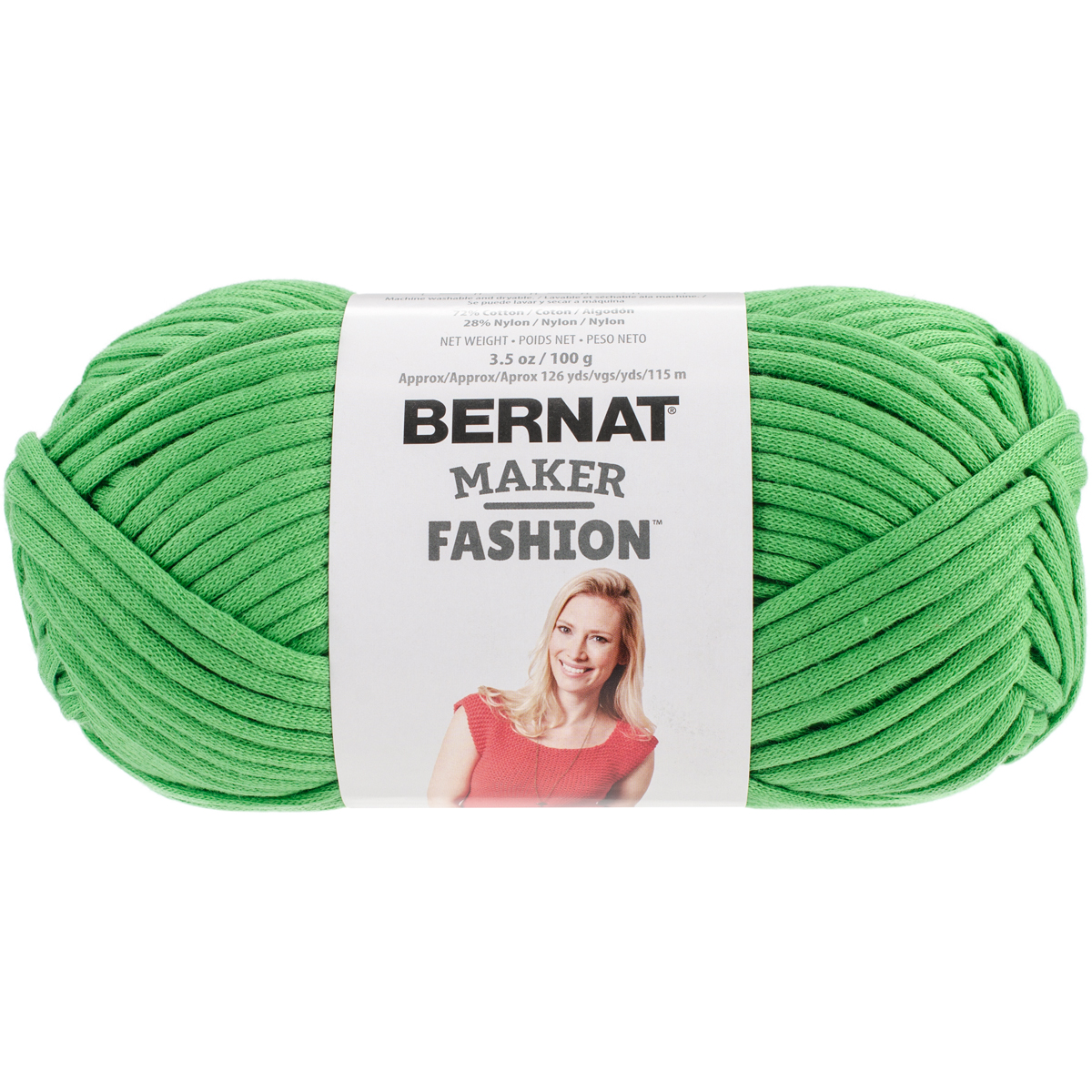 Bernat Maker Fashion Yarn-Green