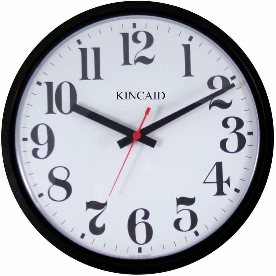 La crosse technology equity 8 black wall clock walmart amipublicfo Gallery