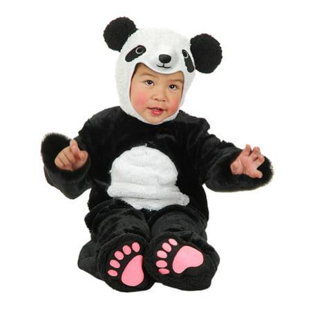 little panda bear infant toddler halloween costume. Black Bedroom Furniture Sets. Home Design Ideas