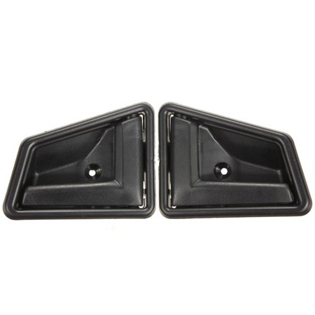 2 Pair Door Handle Interior For  Sidekick GEO Tracker 4 Door 91-98 Left Right Inner Inside 1995 Geo Tracker Exhaust
