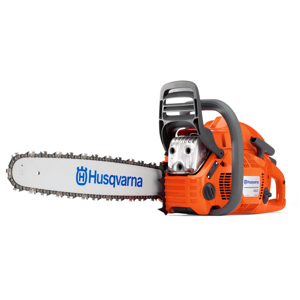 "New Husqvarna 460 Rancher Gas Powered Chainsaw 60.3cc 20"" Bar 72dl .058 Chain"