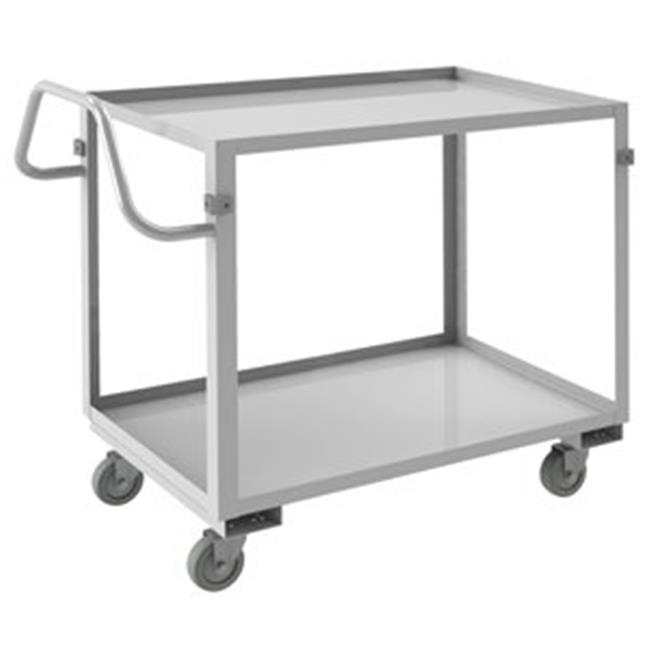 Durham SRSCE2022362ALU4PU 37 in. Stainless Stock Cart - 600 lbs
