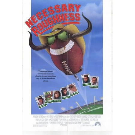 Posterazzi MOVCH6343 Necessary Roughness Movie Poster - 27 x 40 in. - image 1 de 1