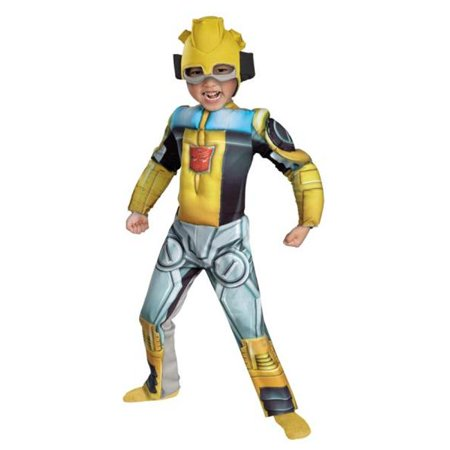 Costumes For All Occasions DG42646M Bumblebee Rescue Bot Muscle 3T - Rescue Bot Costume