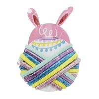 Way To Celebrate Easter Hair Tie Wheel, Bunny
