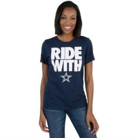 Dallas Cowboys Women's Navy Blue Team Spirit T-Shirt