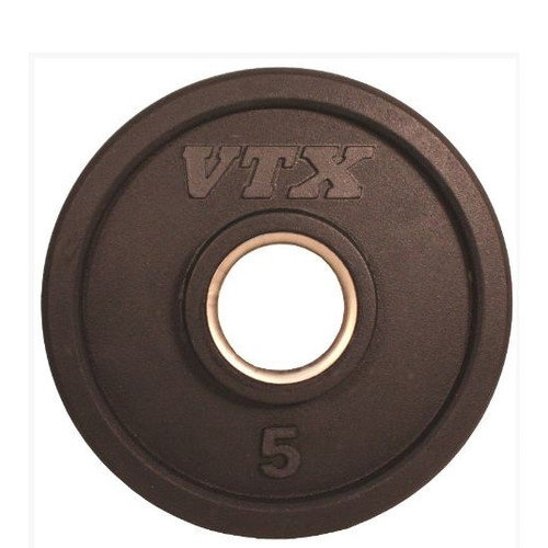 VTX by Troy Barbell 5 lbs Olympic Rubber Grip Plate