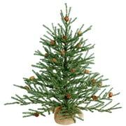"Vickerman 24"" Carmel Pine Artificial Christmas Tree, Unlit"