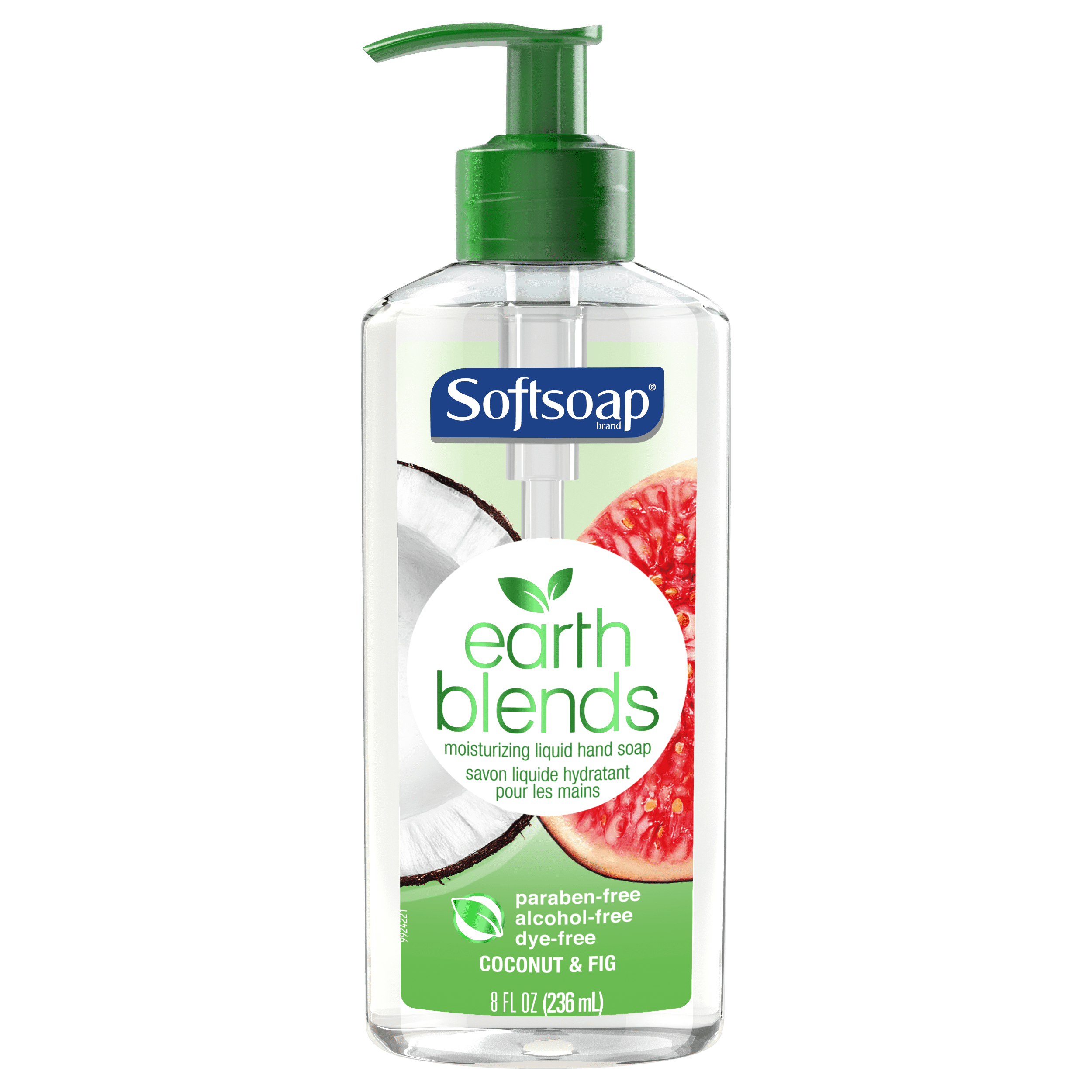 Softsoap Earth Blends Liquid Hand Soap, Coconut & Fig, 8 ounce