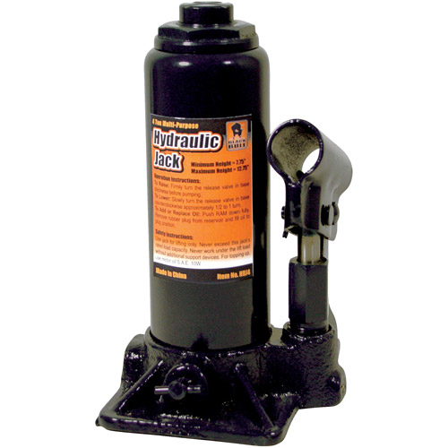 Black Bull 4-Ton Hydraulic Bottle Jack