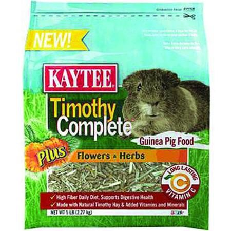 Kaytee Timothy Complete Guinea Pig Food Review