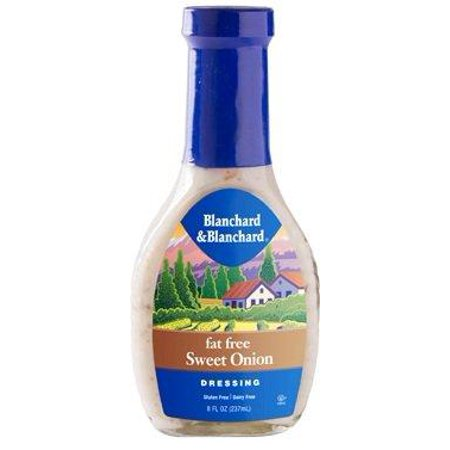 Fat Free Sweet - Blanchard & Blanchard Fat Free Sweet Onion Dressing 8 Oz. Pack Of 3.