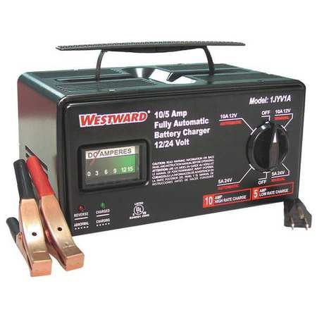Westward 1JYV1 6 ft.L Battery Charger