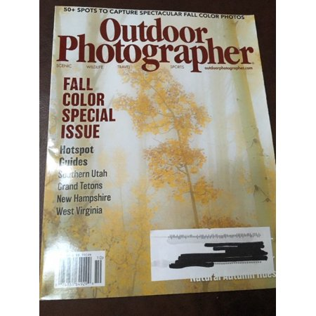 OUTDOOR PHOTOGRAPHER Magazine October 2017 FALL COLOR SPECIAL ISSUE New